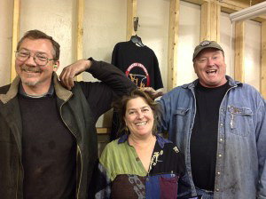 Instructors from left to right; Dale Morse, Karen Friedlander and David Hall