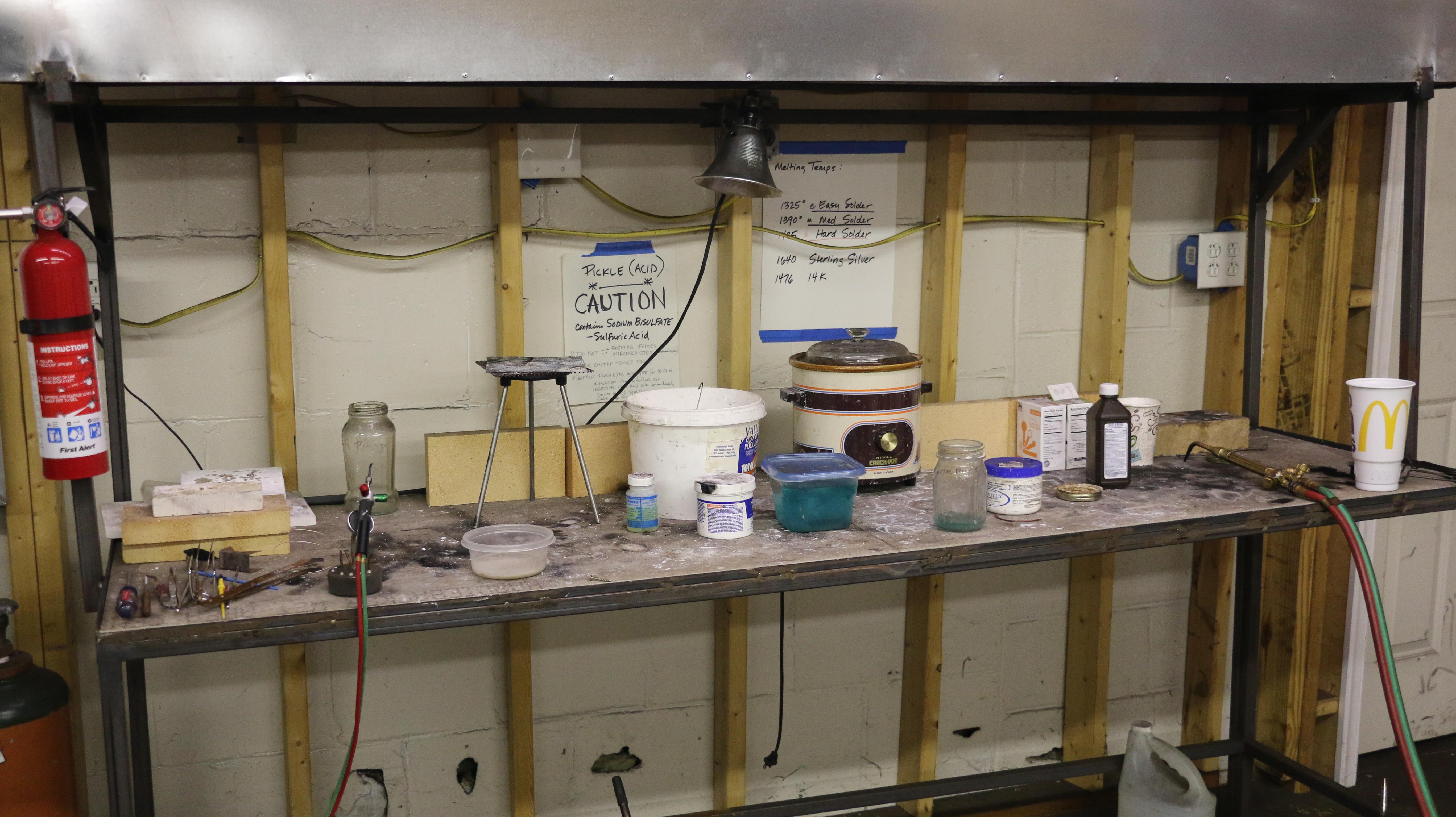 Dec. 13, 2016: Metalsmithing: Advanced Open Studio Wrap-it-up