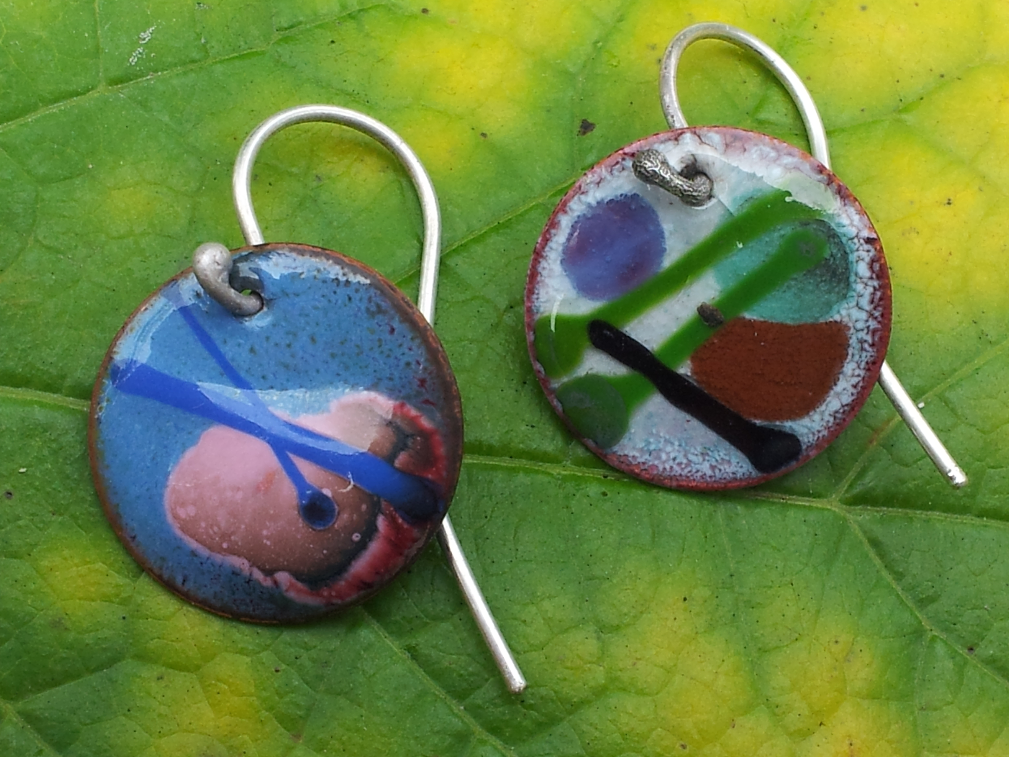 October 18, 2016: Metalsmithing: Torch Fired Enamels