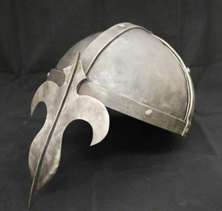 Jan. 21 2017:  Beg. Blacksmithing: Build a Helmet