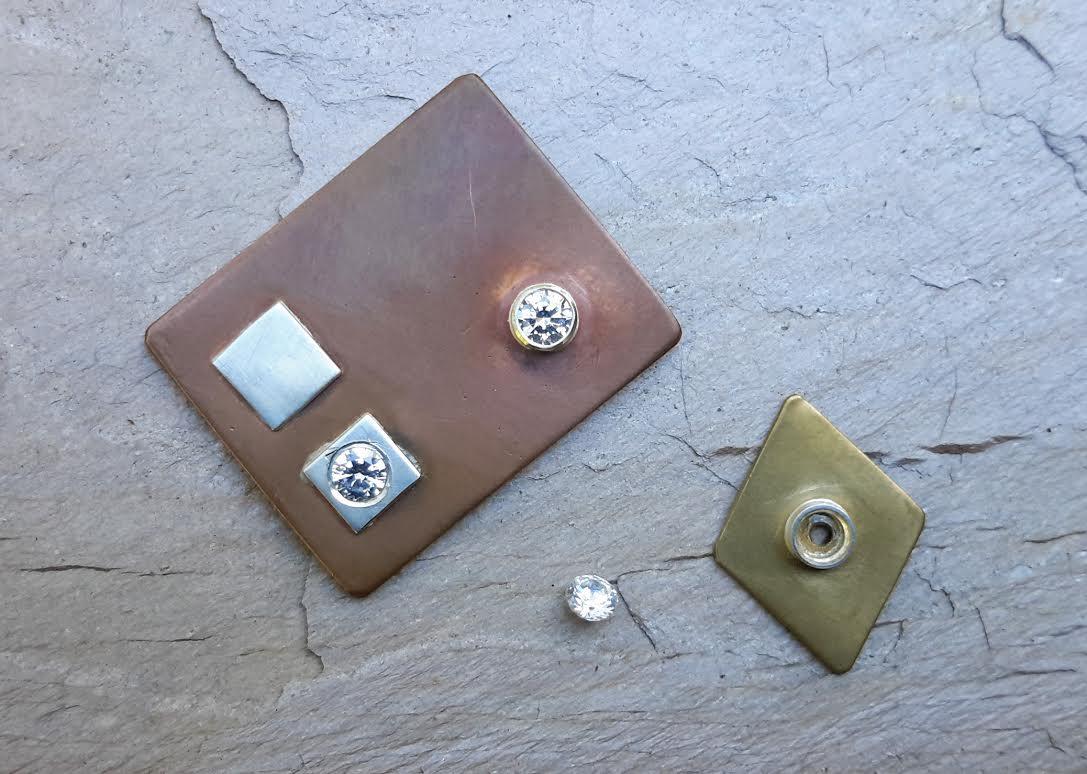 Nov. 12-13, 2016: Metalsmithing: Intro to Stone Setting - Faceted Stone