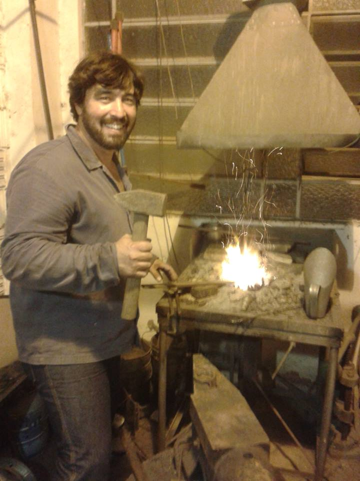 Special Blacksmithing Course: Alexandre Piffer Aug 5 2019
