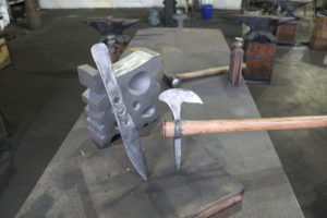 July 13 2019: Blacksmithing: Throwing Knife and Tomahawk class