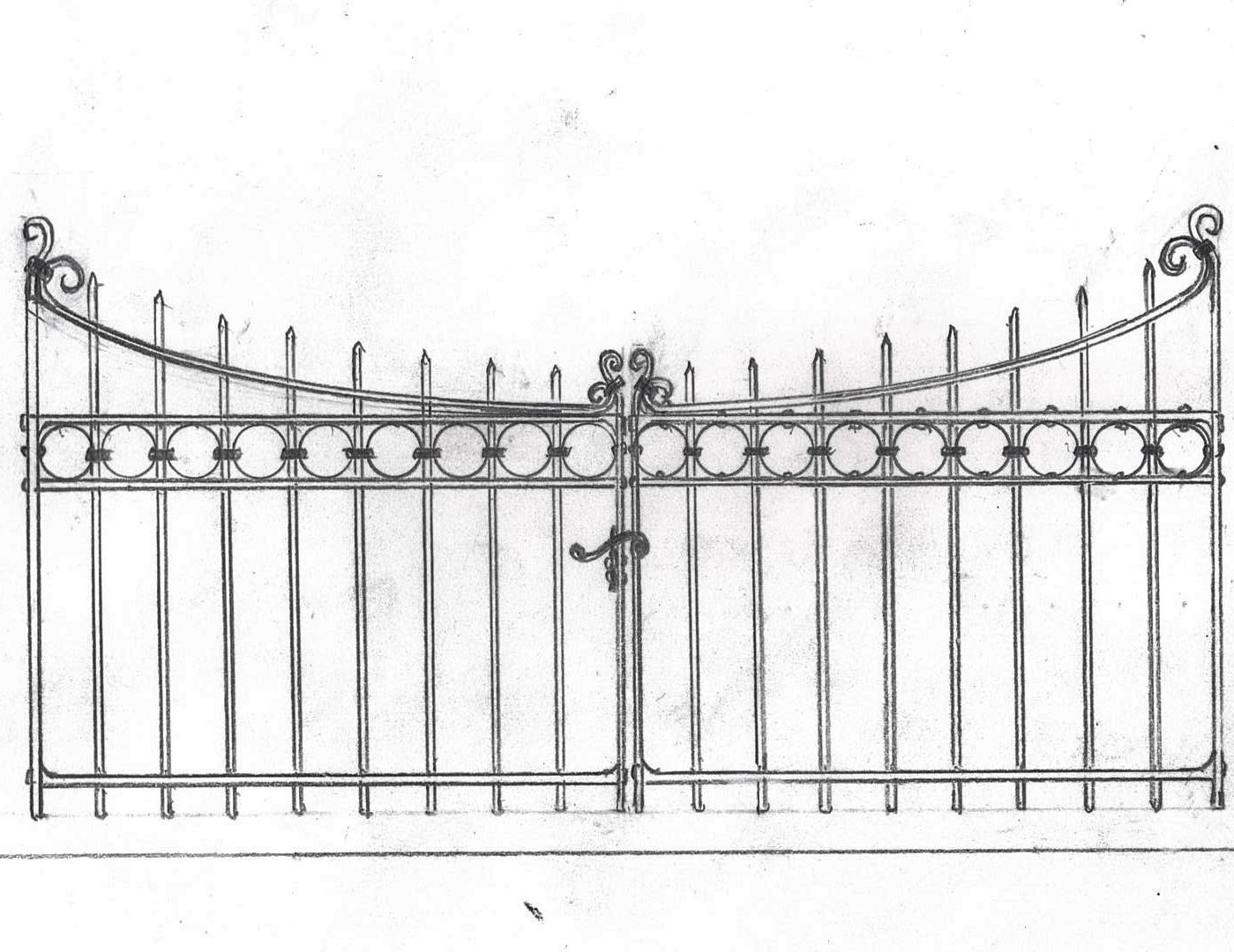 Waynesboro Old Cemetery Gate Reproduction